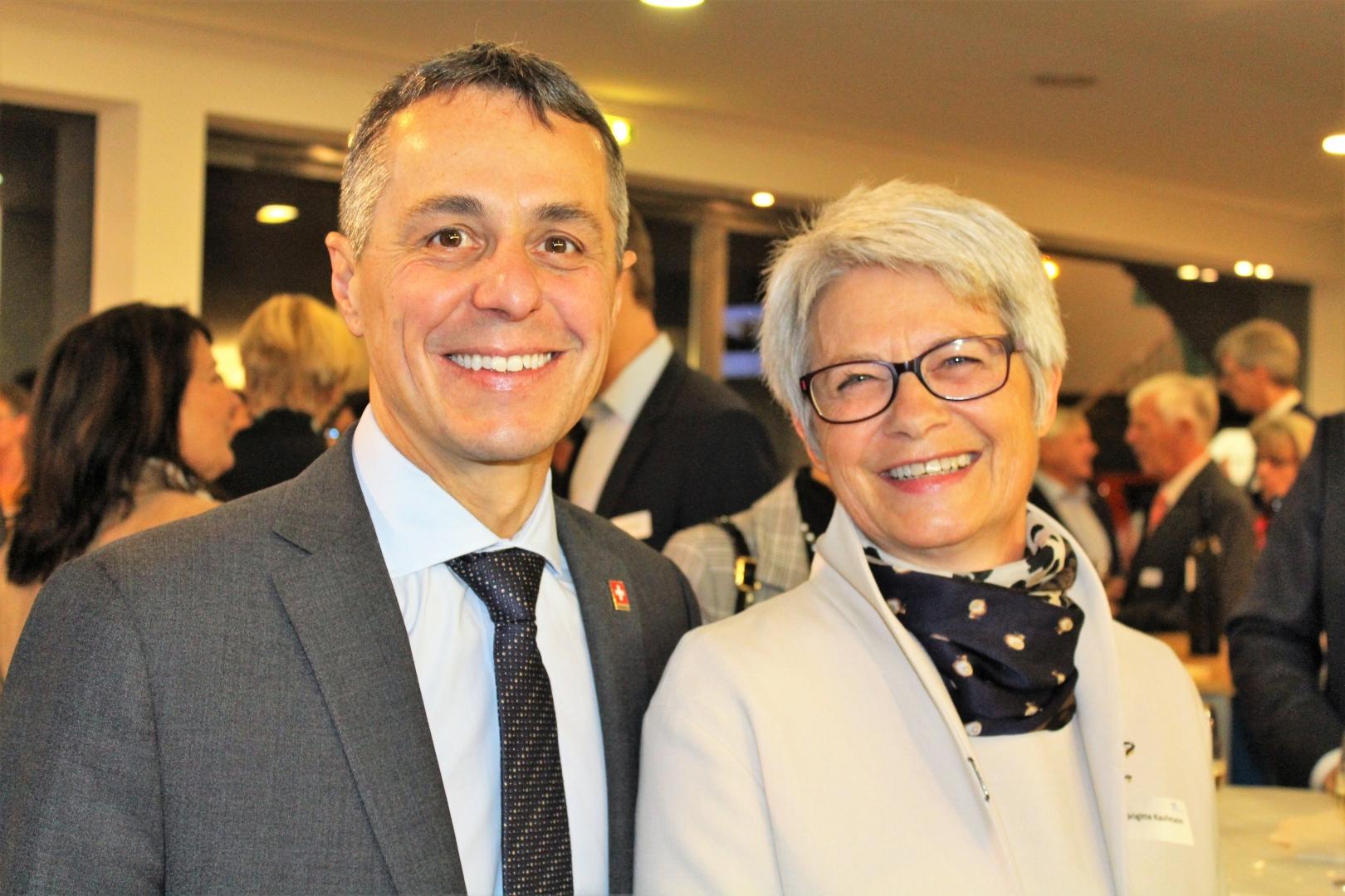 Mit Bundesrat Ignazio Cassis